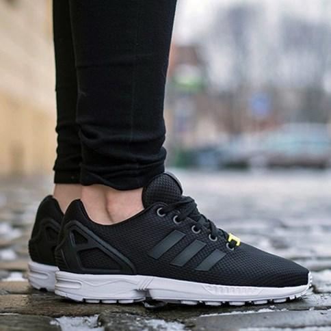 Nowa lista wyglądają dobrze wyprzedaż buty zegarek Adidas zx flux damskie, zima 2019 w Domodi