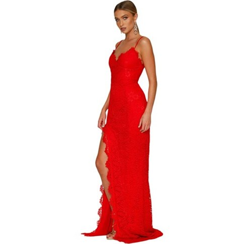 82d191bcc1 Czerwona sukienka wieczorowa