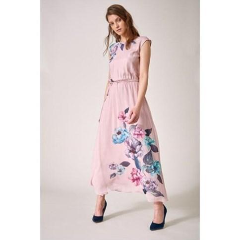 060a2a8032 Długa sukienka szyfonowa