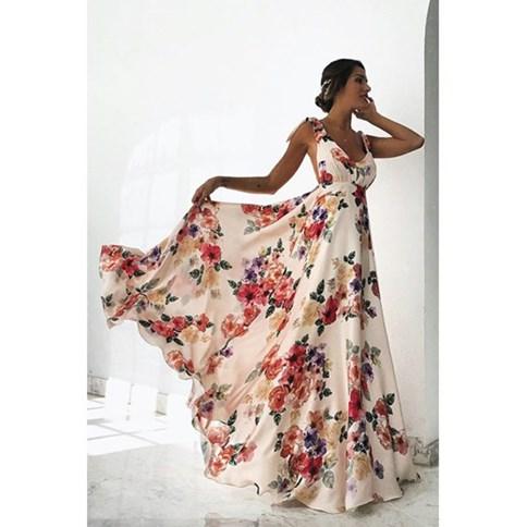 0211f773ed Sukienki Długie Maxi Zima 2019 W Domodi