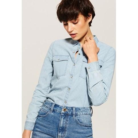 6c2e7c031 Koszule jeansowe damskie, lato 2019 w Domodi