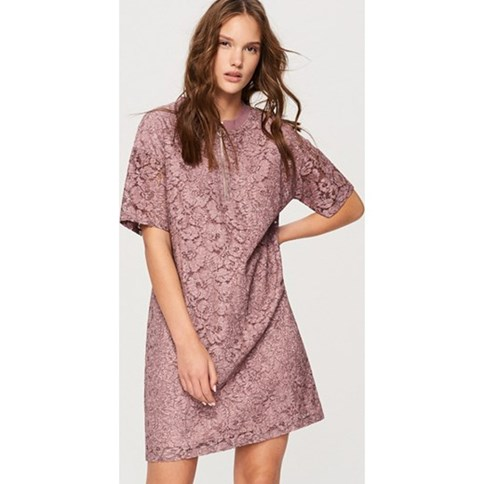 840e1d4f01 Pastelowa sukienka trapezowa na wesele