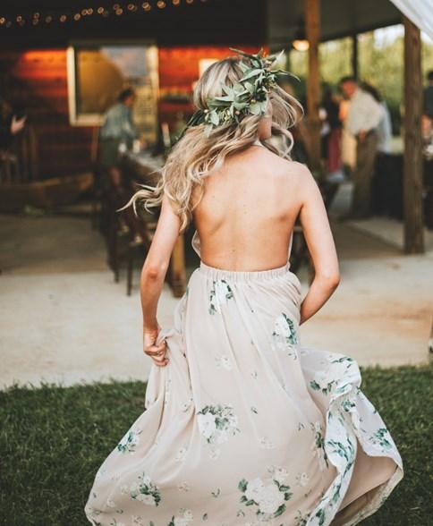 31ce7385fd Sukienka w kwiaty na wesele