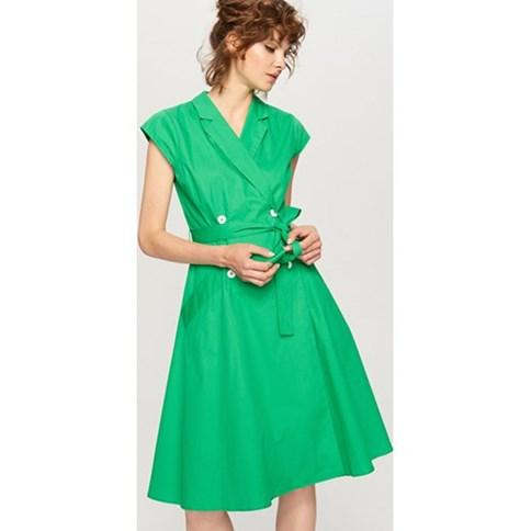 74d8db8741 Zielona sukienka na wesele
