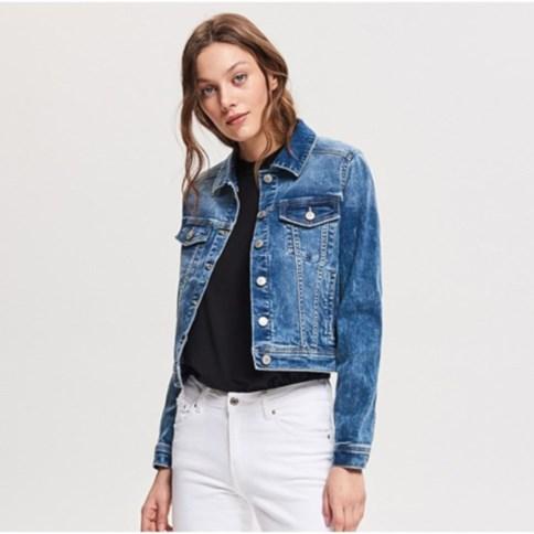 3daad47a Kurtki damskie jeansowe, lato 2019 w Domodi
