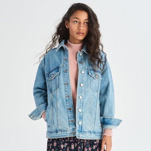długa damskie kurtki jeansowe