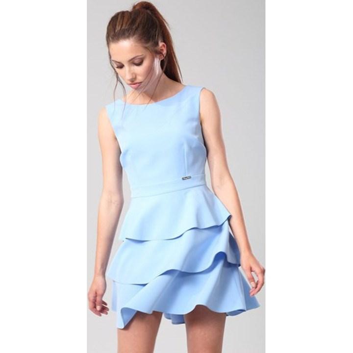 Sukienki Z Falbanami Wiosna 2021 W Domodi