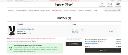 born2be kod rabatowy