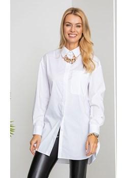 Koszula VIRGINIA z naszyjnikiem white Maravilla Boutique Maravilla Boutique  - kod rabatowy