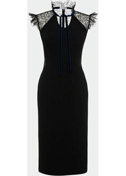 Sukienka Iris / czarny Izabela Lapinska - kod rabatowy