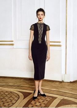 Sukienka Laura / czarny Izabela Lapinska - kod rabatowy