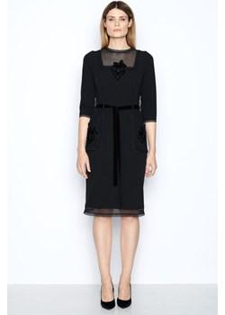 Sukienka Klara / czarny Izabela Lapinska - kod rabatowy