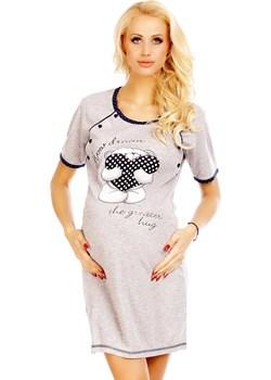 Koszula ciążowa Biały Misio Fun Direct - kod rabatowy