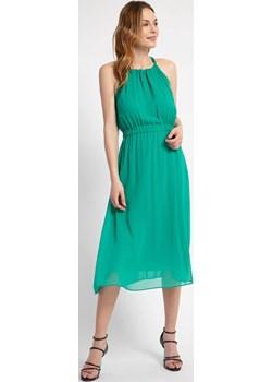 Zielona sukienka z wiązaniem na szyi Cotton Club Cotton Club - kod rabatowy