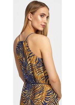 Letnia sukienka z dekoltem halter w afrykański druk Cotton Club Cotton Club - kod rabatowy