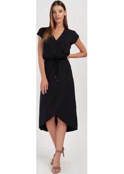 Dzianinowa sukienka w kolorze czarnym Cotton Club Cotton Club - kod rabatowy