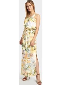 Letnia sukienka maxi w kwiatowy wzór Cotton Club Cotton Club - kod rabatowy