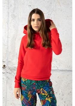 Bluza Z Kapturem Kayo Red - OKYD-20 Nessi Sportswear Nessi Sportswear - kod rabatowy