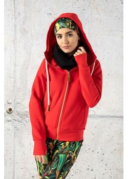 Bluza z Kapturem Bioko Red - ORBD-20 Nessi Sportswear Nessi Sportswear - kod rabatowy