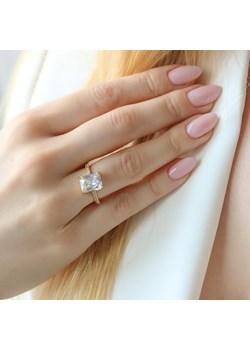 Złoty pierścionek ROYAL PRINCESS z cyrkoniami - srebro 925 pozłacane 14 (17mm) coccola.pl - kod rabatowy