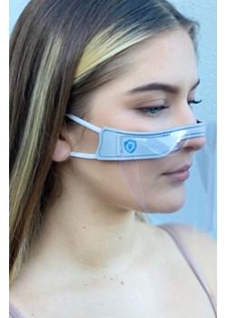 Mini-przyłbica FaceShield - komfort i wygoda 5/5 - Niebieski Lavel LAVEL - kod rabatowy
