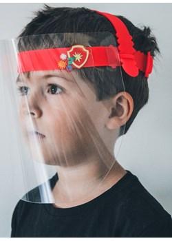 Przyłbica ochronna dla dzieci / dziecięca (FaceShield) - czerwony Lavel LAVEL - kod rabatowy
