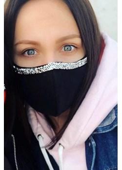 Wielorazowa maseczka ochronna Martino Demi Mustache.pl - kod rabatowy