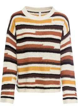 Sweter w paski | bonprix bonprx - Allani - kod rabatowy
