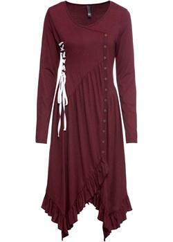 Sukienka ze sznurowaniem   bonprix bonprx - Allani - kod rabatowy