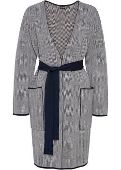 Sweter z wiązanym paskiem   bonprix bonprx - Allani - kod rabatowy