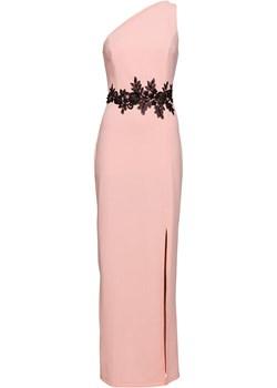 Sukienka one-shoulder z koronką   bonprix bonprx - Allani - kod rabatowy