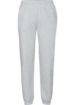 Spodnie dresowe męskie z nogawkami ze ściągaczem Fruit Of The Loom - Heather Grey, XXL Fruit Of The Loom Fruties.pl - kod rabatowy