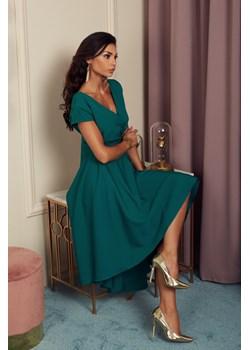 Sukienka Selena - butelkowa zieleń Marconifashion - kod rabatowy