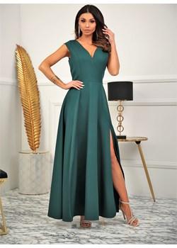 Sukienka Milena - butelkowa zieleń Marconifashion - kod rabatowy