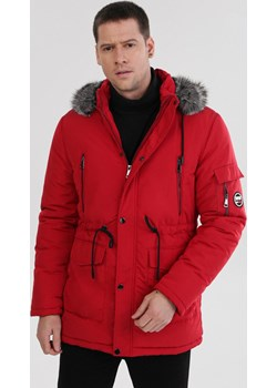 Czerwona Kurtka Pumpkinsong Born2be Odzież - kod rabatowy