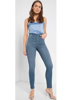 Jeansy skinny z wysokim stanem orsay.com - kod rabatowy