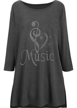 Bluzka Tunika z diamencikami Music kafrim.pl - kod rabatowy