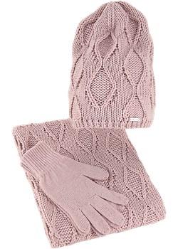 Czapka bez pompona komin rękawiczki Amaltea AMALTEA - kod rabatowy