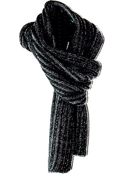 Czarny szalik Amaltea AMALTEA - kod rabatowy