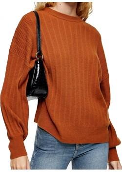 Sweterek prążkowany TOP SHOP M Top Shop wyprzedaż WMC - OUTLET - kod rabatowy