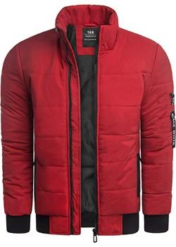 Męska kurtka zimowa T&M A11 - czerwona Risardi Risardi promocyjna cena - kod rabatowy