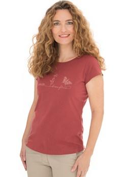 Damski czerwony T-shirt Bushman Natalie czerwony Bushman Astratex - kod rabatowy