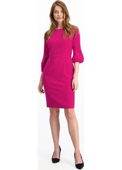 Sukienka w kolorze fuksji Dafi 84463 Lavard okazyjna cena Lavard - kod rabatowy