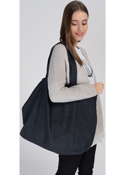 Duża torba z ciemnego denimu Cotton Club Cotton Club - kod rabatowy