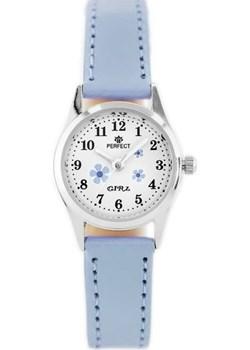 ZEGAREK DZIECIĘCY PERFECT G141 - light blue/silver (zp804x) - Niebieski || Srebrny Perfect TAYMA - kod rabatowy