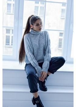 Sweter Bomb Grey Olivkabutik.pl olivkabutik - kod rabatowy