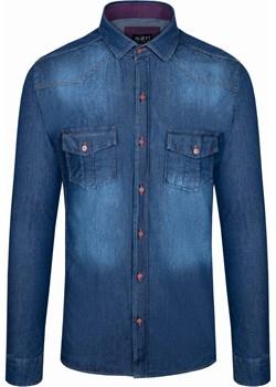Koszula męska jeansowa Rokado Rzym Rokado Rokado - kod rabatowy