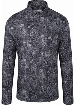 Koszula męska we wzory Szara Rokado Werona II Rokado Rokado - kod rabatowy