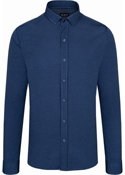 Koszula męska we wzory Niebieska Rokado Nicea Rokado Rokado - kod rabatowy