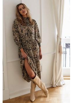 Sukienka maxi ze wzorem paisley orsay.com - kod rabatowy